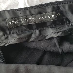 Zara Shorts - ZARA black skort